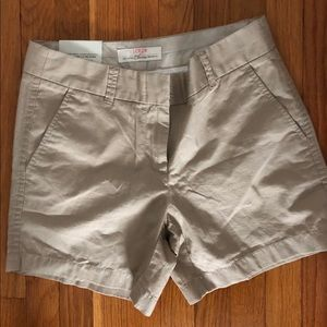 J. Crew Chino (city fit) Short size 0